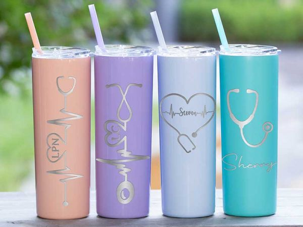 Healthcare workers Gift Personalized 20oz Tumbler