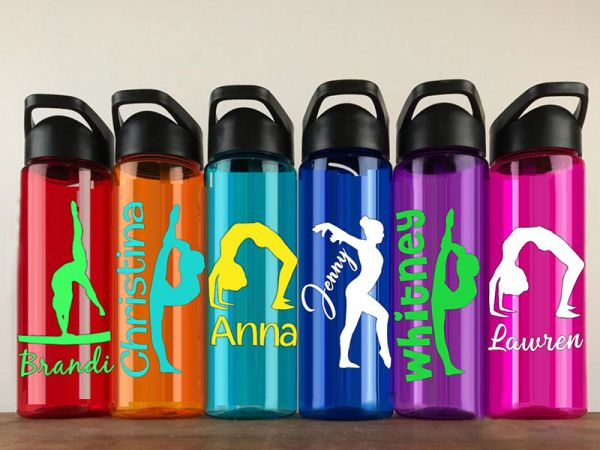 Dancer&Gymnastics gift Personalized Water Bottle Sports bottles