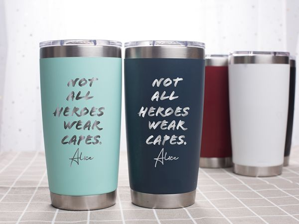 Personalized 20oz Tumbler For The healthcare workers