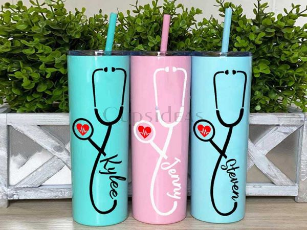 Personalized 20 OZ Tumbler Healthcare workers Gift