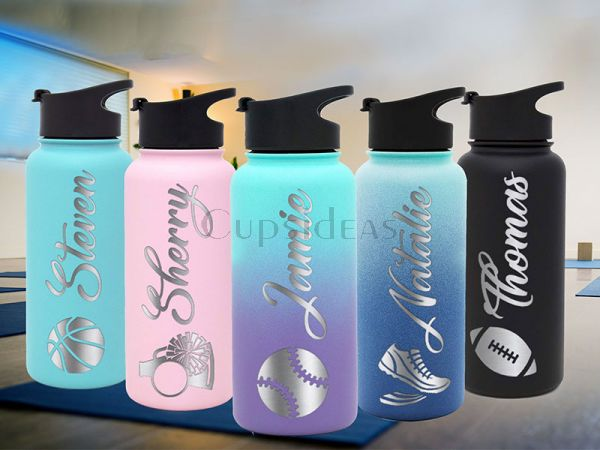 Sports Gift! Customized 18oz Vacuum Water Bottle