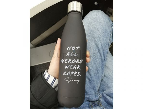 Personalized Stainless Steel 17oz Water Bottle For Healthcare Workers