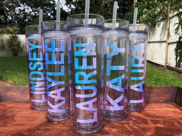 personalized Acrylic 16oz Tumbler