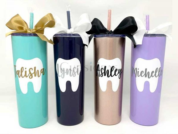 The Dentist Gift 20oz Personalized Tumbler